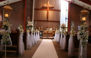 Beautiful weddings at Christ Church