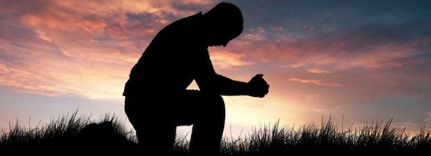 prayer-silhoette
